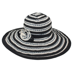 "Jeanne Simmons - 5.5"" Ribbon Hat"