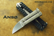 Anso - Sheepsfoot Balisong