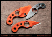 Warren Thomas - Perrin LaGriffe - Composite Ti/Orange G10