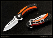 Begg - Field Marshall - Black/Orange G10