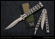 "Jody Samson - 4"" Bowie, Skeleton, Military Finish"