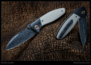 Peter Carey – Nitro, Damascus, Zirc Bolsters