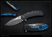 Todd Begg - Bodega, Carbon Fiber, Black and Blue