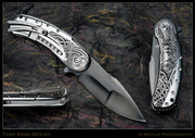 Todd Begg - Bodega 2.0 with Custom Deep Engraved Inlay (Norse/Mirror Frame)