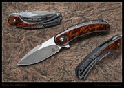 Todd Begg - Bodega, Carbon Fiber with Redwood Burl