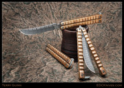 Terry Guinn - Balisong, Mokume and Damascus