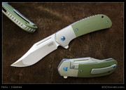 Peña - X-Series - Lanny's Clip Flipper with Green G10