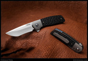 Peña - Dingo - Jigged Black Micarta