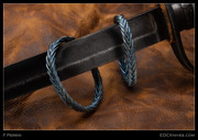 F. Perrin Bracelet - Ti Box Braid Small #1803