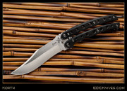 Korth - Palace Bowie Balisong - Black G10
