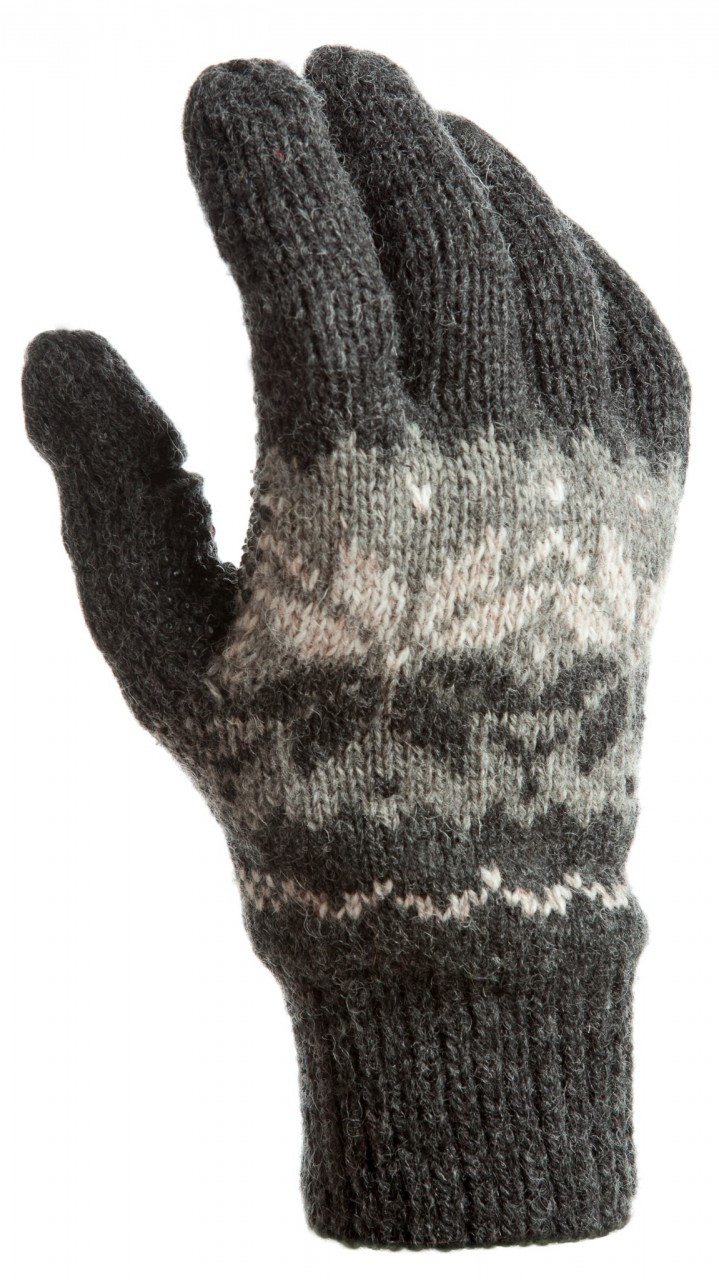 Snowflake Ragg-Wool, Mens - Freehands Gloves