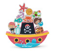 Le Toy Van Pirate Balance Rock'n'Stack