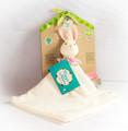 Havah Bunny Rubber Baby Comforter