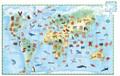 Observation Puzzle - World Animals 100pc