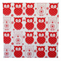 Monkey Caboose Wall Art - Red Owls