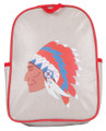 Apple and Mint - Red Native American Toddler Backpack
