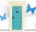 Lil Fairy Door - Glittery Blue - Limited Edition