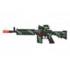 M4 Machine Gun - Woodland Camo