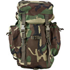 Kids Army Style Rucksack - Woodland Camo