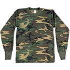 Woodland Camo Long Sleeved T-Shirt