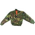 Camouflage MA-1 Jacket - Front