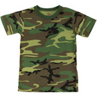 Kids T-Shirt - Woodland Camo