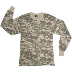Boys Long Sleeve T-Shirt ACU Digital Camo
