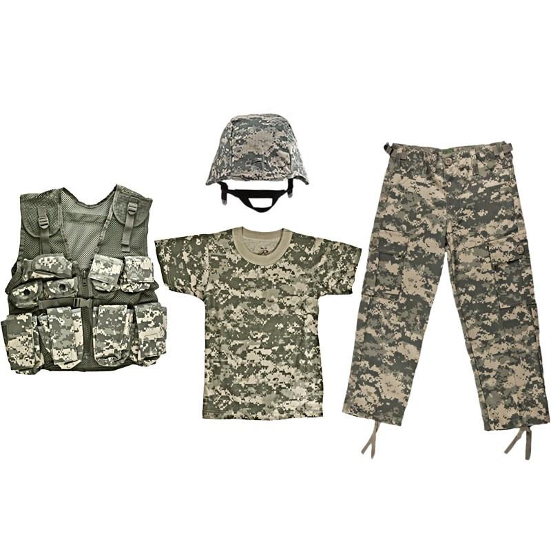 f2417a43a Kids #1 Full Camo Set - ACU Digital Camouflage