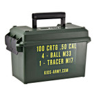 Kids-Safe Military Ammo Can - 50 Cal.