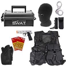 Kids SWAT Cap Gun Ammo Can Set