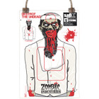 Colossal Paper Shooting Target - Zombie Terrorist