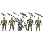 Combat Soldier Action Figure Set
