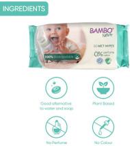 Bulk Save 20% Bambo Nature Eco Baby Wipes 100% Biodegradable BOX 14 x Packs