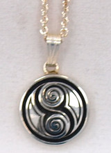 Two Spirals Pendant