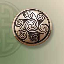Seven Spirals Brooch
