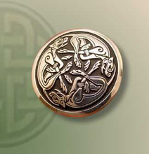 Three Lions Brooch
