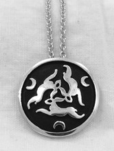 Hares & Moons Pendant