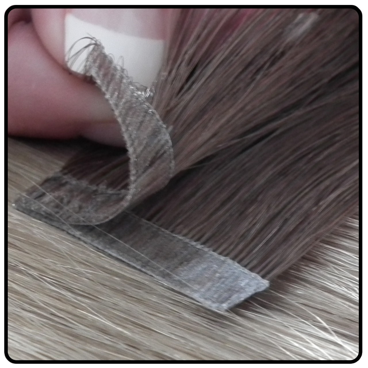 Virtually Free Hair Extension Samples Colour Selected By Our Staff