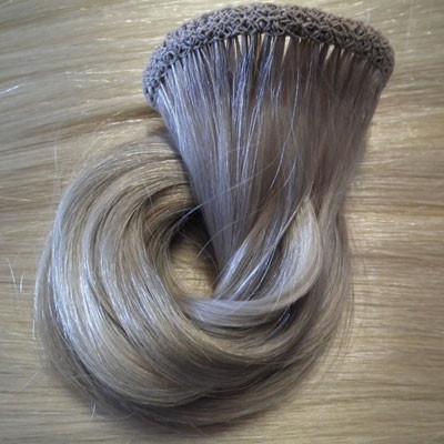 Russian handmade weft Virgin Blonde