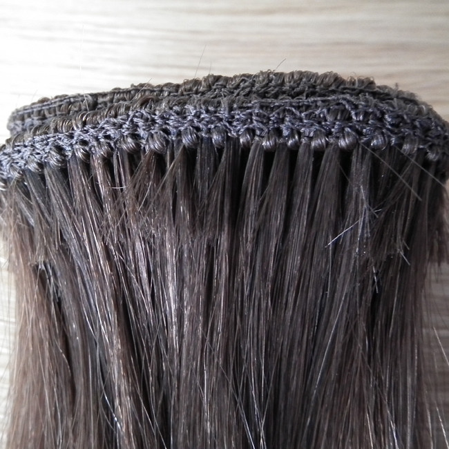 Double Drawn Thick Virgin Russian Hair Extensions Made Exclusively