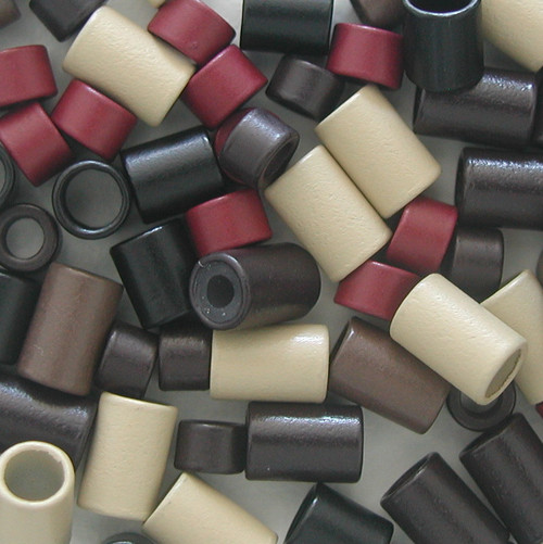 Cylinder Rings for hair extensions