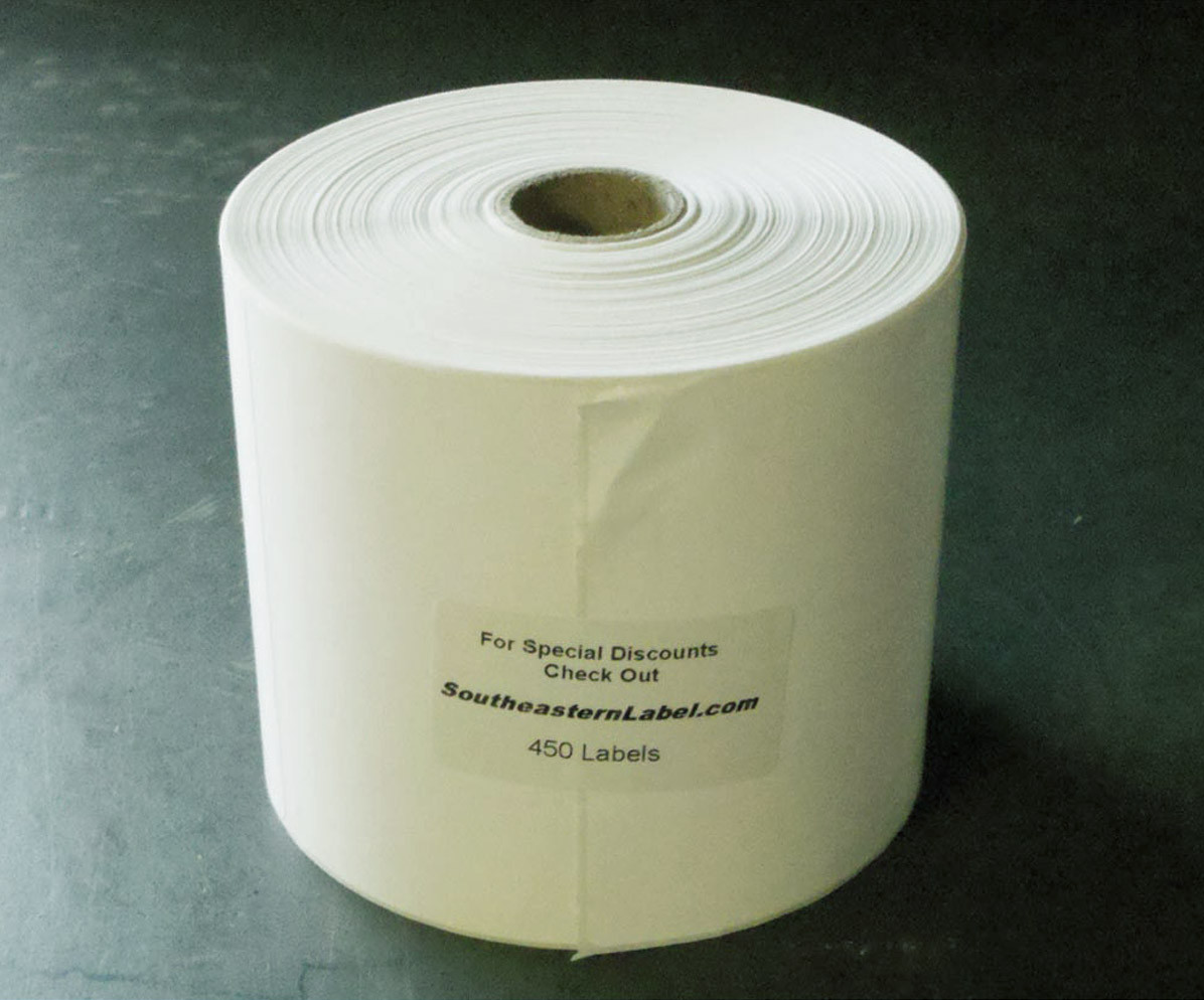 4x6 Direct Thermal 4,500 Labels (10 Rolls of 450)