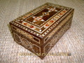 Elegant High Quality Handcraft Mosaic Jewelry Box with Mother of Pearl