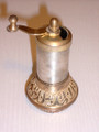 Small Traditional Ottoman Brass Paper Grinder
