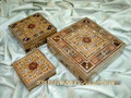 The Wonderful Gift For Special One A Set of Three Handmade Mosaic Boxes