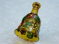 Wonderful Unique Handmade Painted Glass Christmas Bell