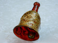 Fancy Hand Painted Christmas Tree Decoration Bells