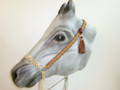 The Majestic in New Handmade Arabian Horse Royal Show Halter