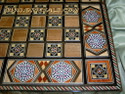 Syrian Backgammon Board