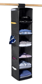 "Sweater Organizer | 6 Shelves | 48"" X 11"" X 11"""